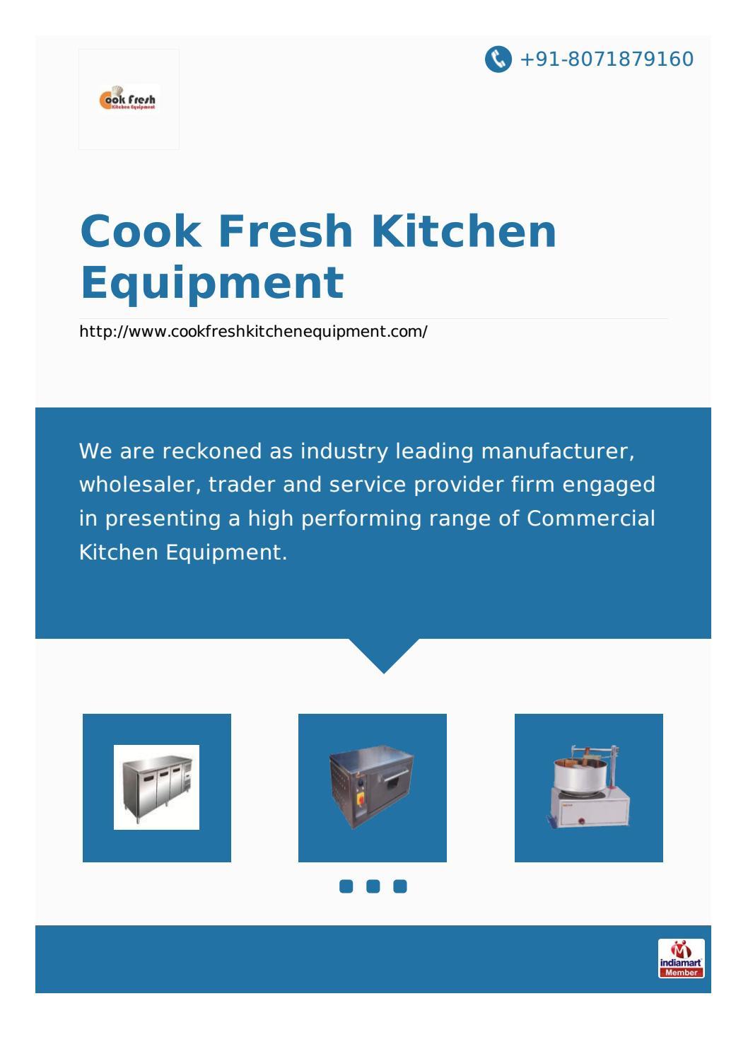 Cook fresh kitchen equipment by Cook Fresh Kitchen Equipment - issuu