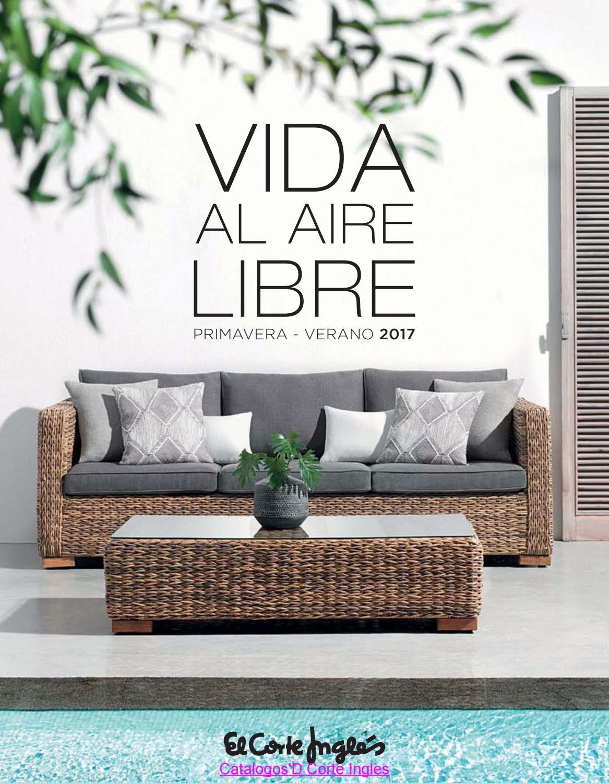 Aire Libre Corte Ingles Pv 2017 By Catalogos D By Revistas En  ~ Muebles De Terraza El Corte Ingles