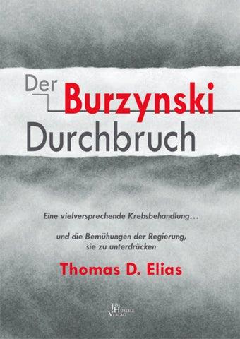Der Burzynski Durchbruch Vorschau by Jim Humble Verlag - issuu
