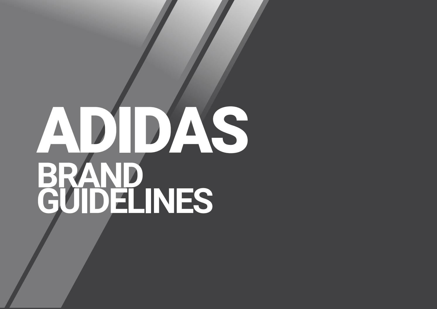 adidas brand guidelines by chris nguyen issuu rh issuu com Corporate Brand Book adidas brand identity guidelines