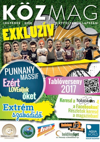 "Cover of ""PREVIEW - KÖZMAG - Győr - 2017-04"""