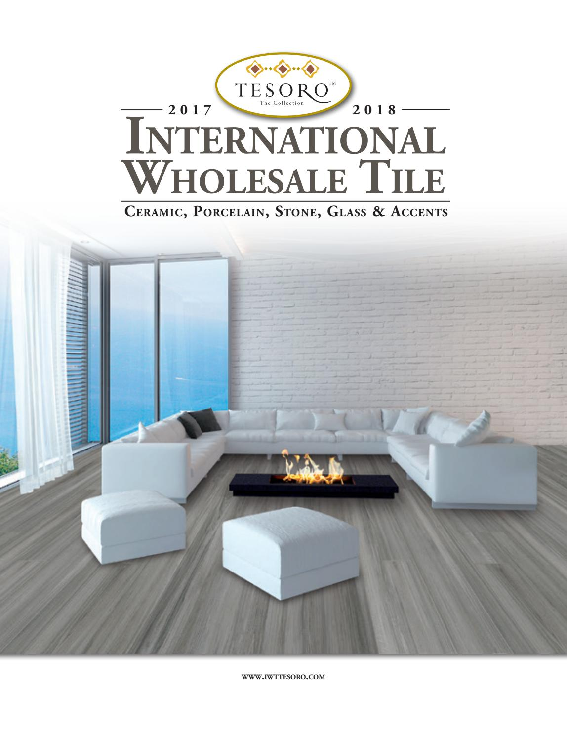 2017 2018 international wholesale tile tesoro catalog by international wholesale tile issuu