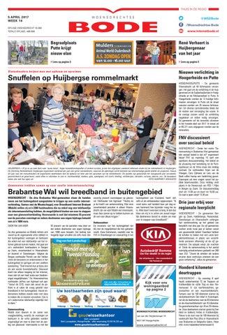 Woensdrechtse Bode 05 04 2017 by Uitgeverij de Bode issuu