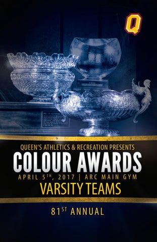 2016-17 Colour Awards Varsity Teams by Queen's Gaels - issuu