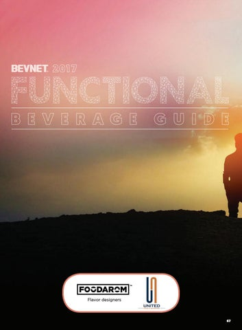 premium selection 6a784 aef97 BevNET Magazine – 2017 Functional Beverage Guide