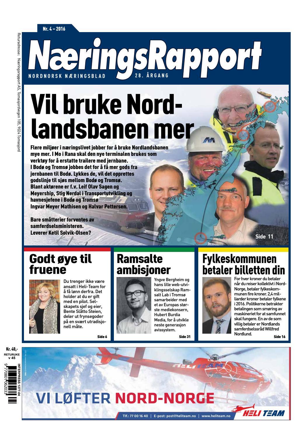 1f1a341c8fa7 NæringsRapport nr. 4 - 2016 by NæringsRapport - issuu