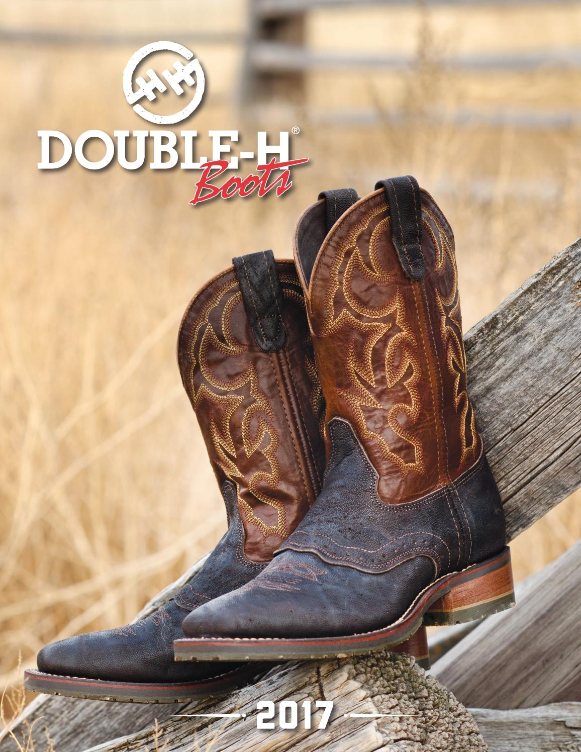 7c4b35d8943 2017 Double H Catalog by HH Brown Work & Outdoor Group - issuu