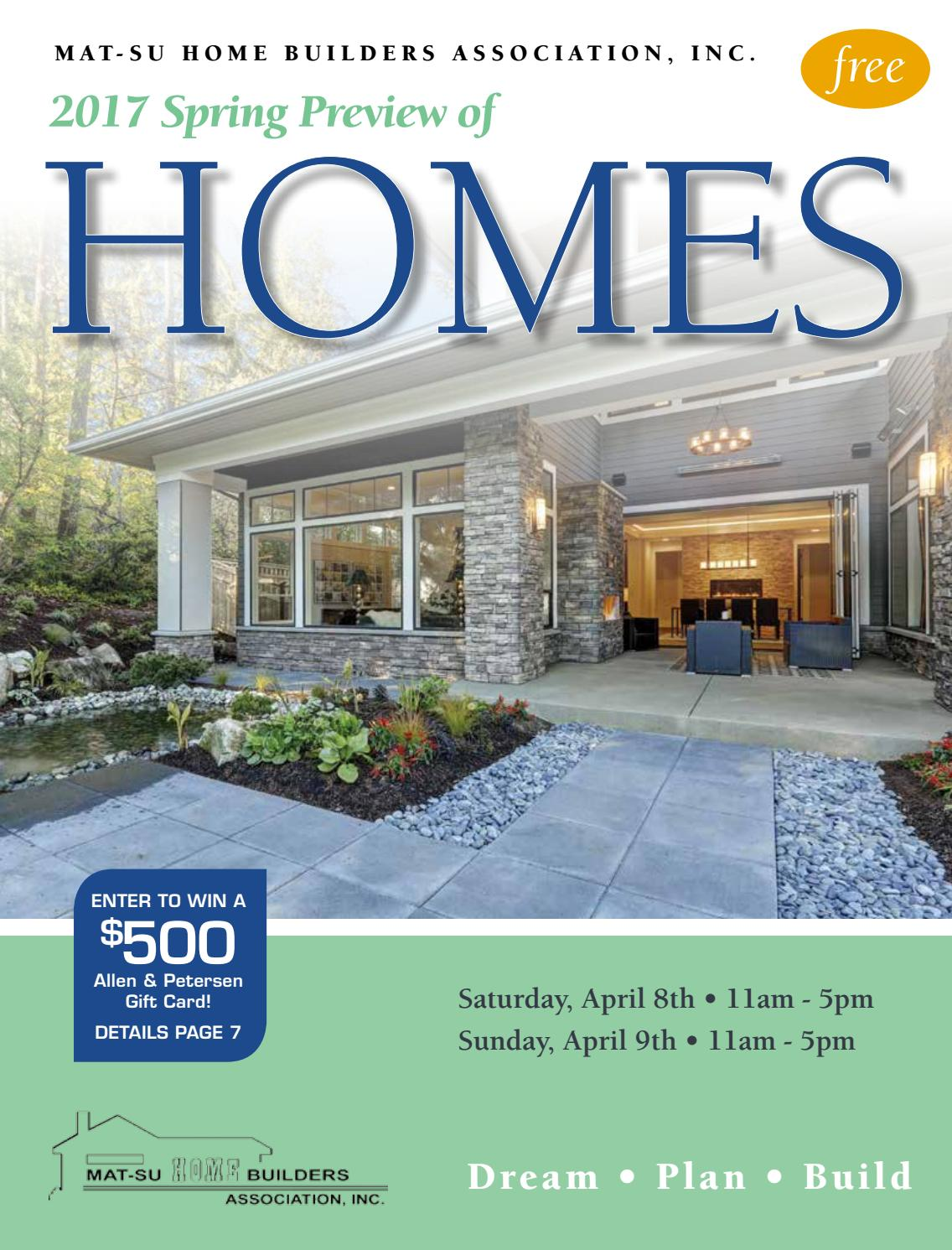 2017 Spring Home Tour: Mat Su Valley Spring Preview Of Homes 2017 By Barb Huntley
