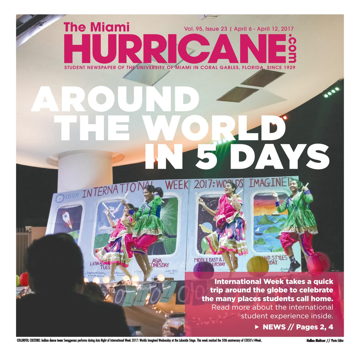 The Miami Hurricane: April 6, 2017 by The Miami Hurricane