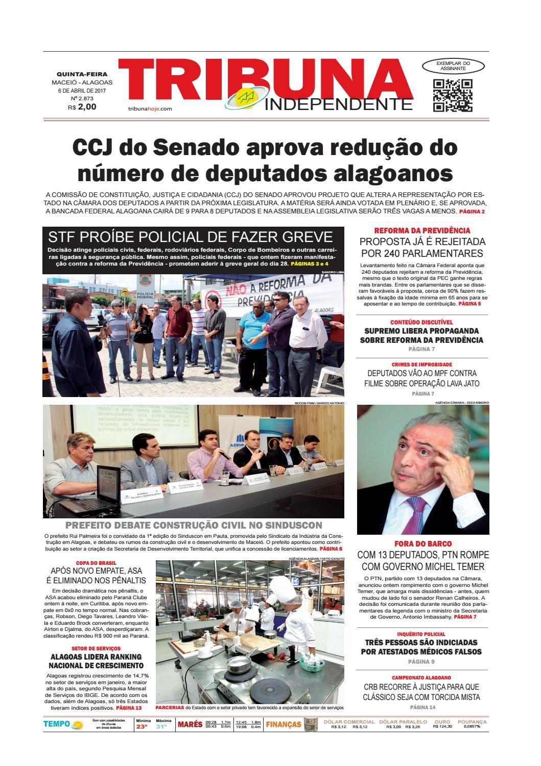 c8c87b8e739 Edição número 2873 - 6 de abril de 2017 by Tribuna Hoje - issuu