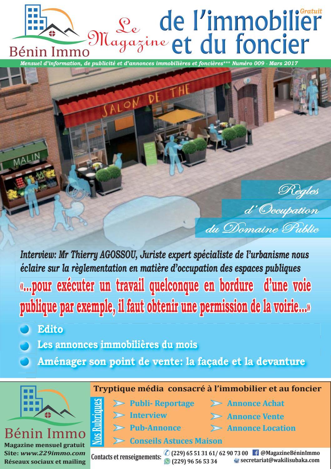 Le Magazine De L Immobilier Et Du Foncier N 09 By 229immo