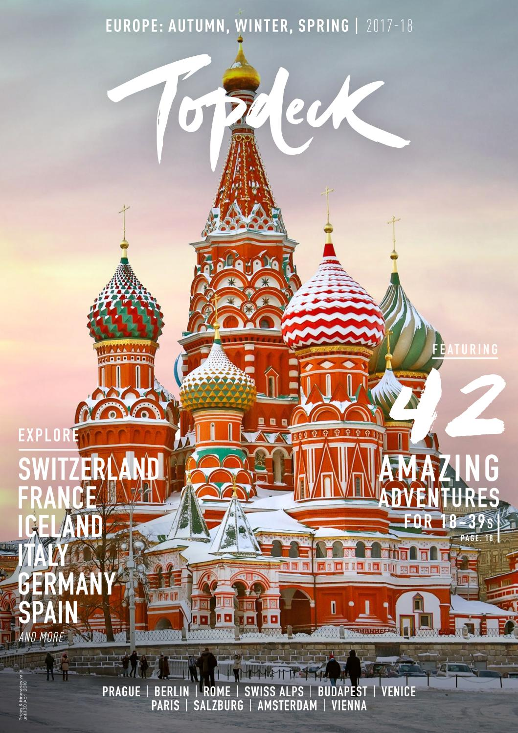AUD) Topdeck | Europe Winter 201718 by Topdeck Travel issuu