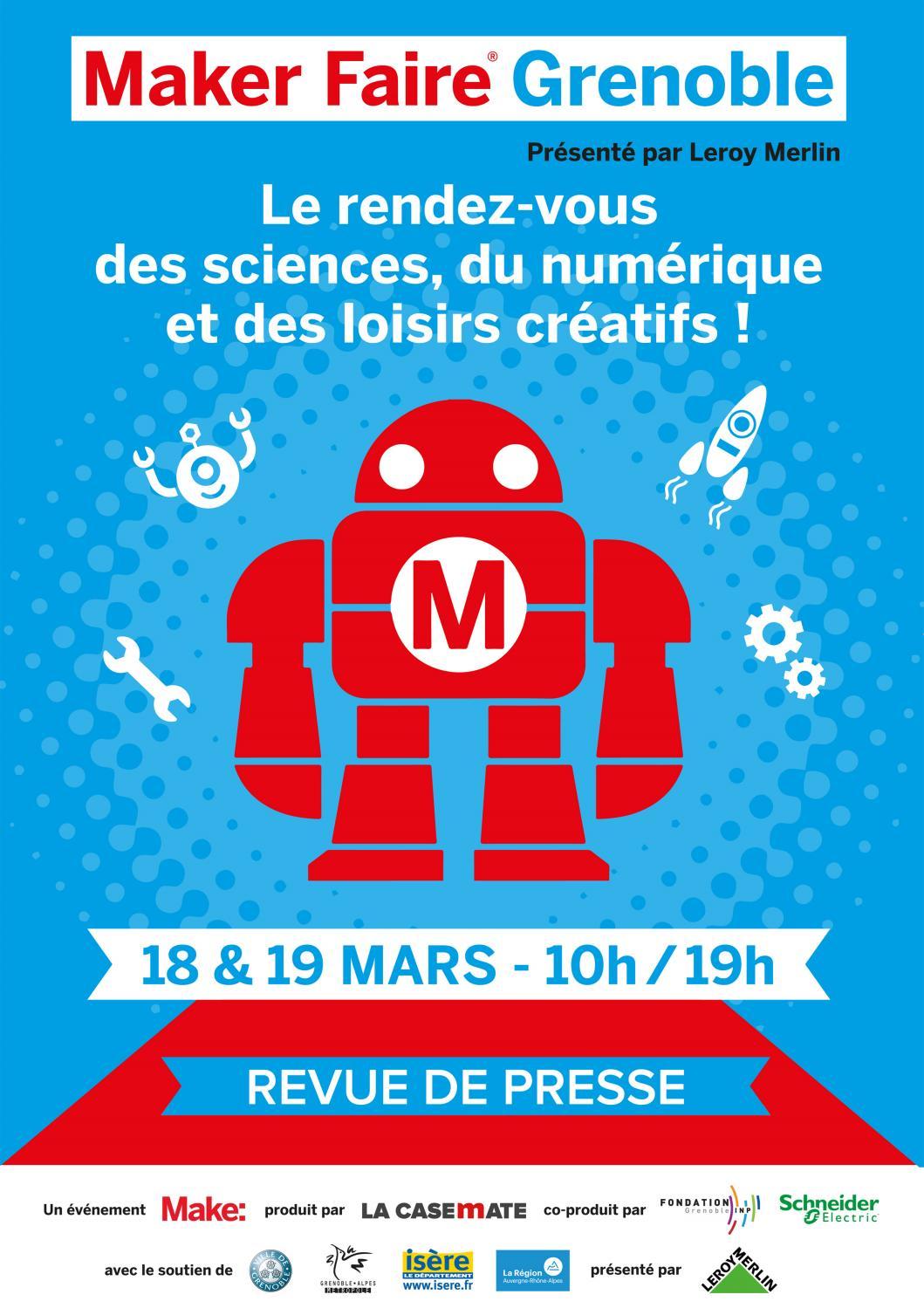 Maker Faire Grenoble 2017 Revue De Presse By Elodie La