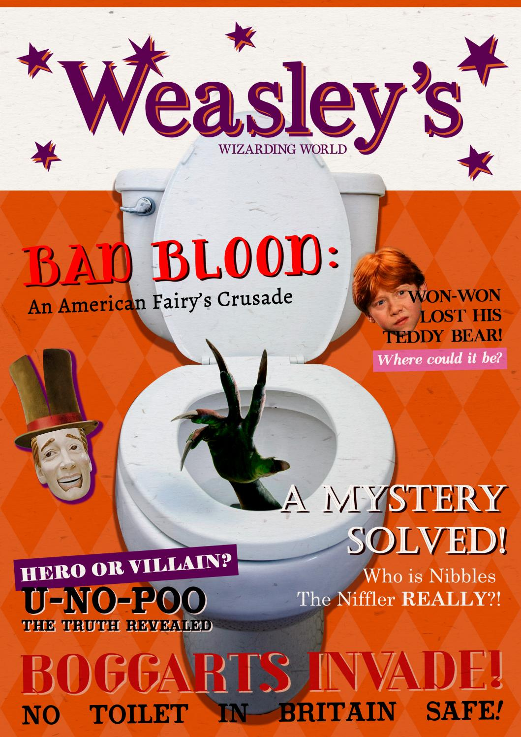 The Quibbler - Spring 2017 by Hogwarts Quibbler - issuu