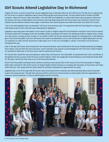 Girl scout common wealth council of virginia