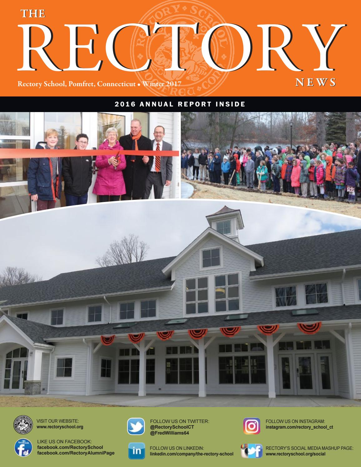 The Rectory News Winter2017 by Rectory School - issuu