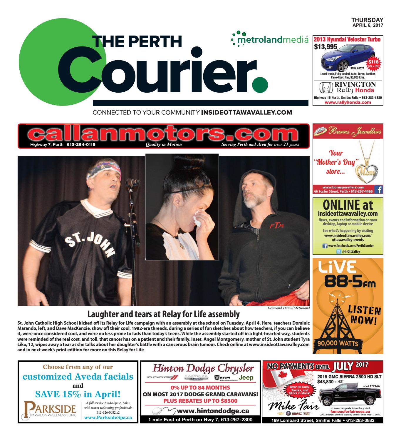 Perth040617 by metroland east the perth courier issuu fandeluxe Gallery