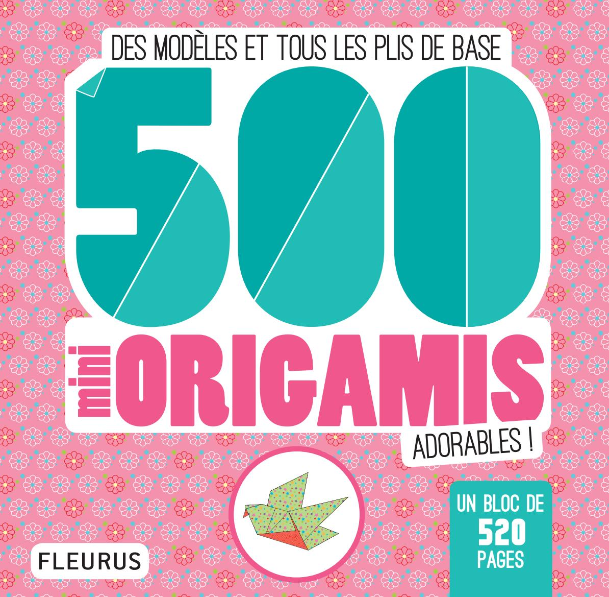 9782215157731 500 mini origamis adorables by fleurus
