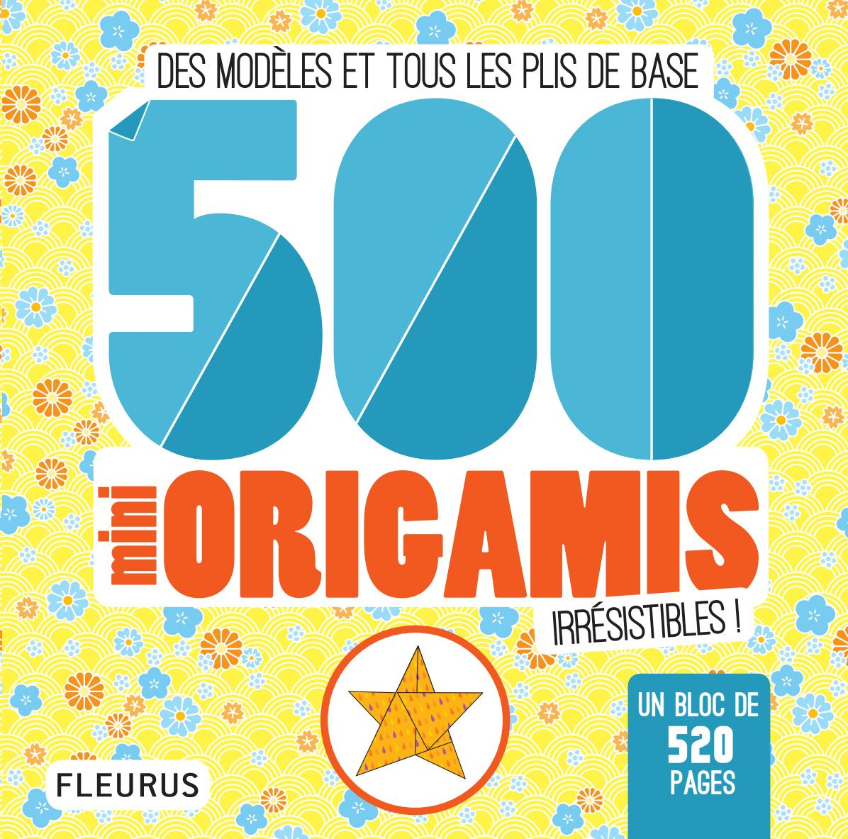 9782215157724 500 mini origamis irresistibles by fleurus