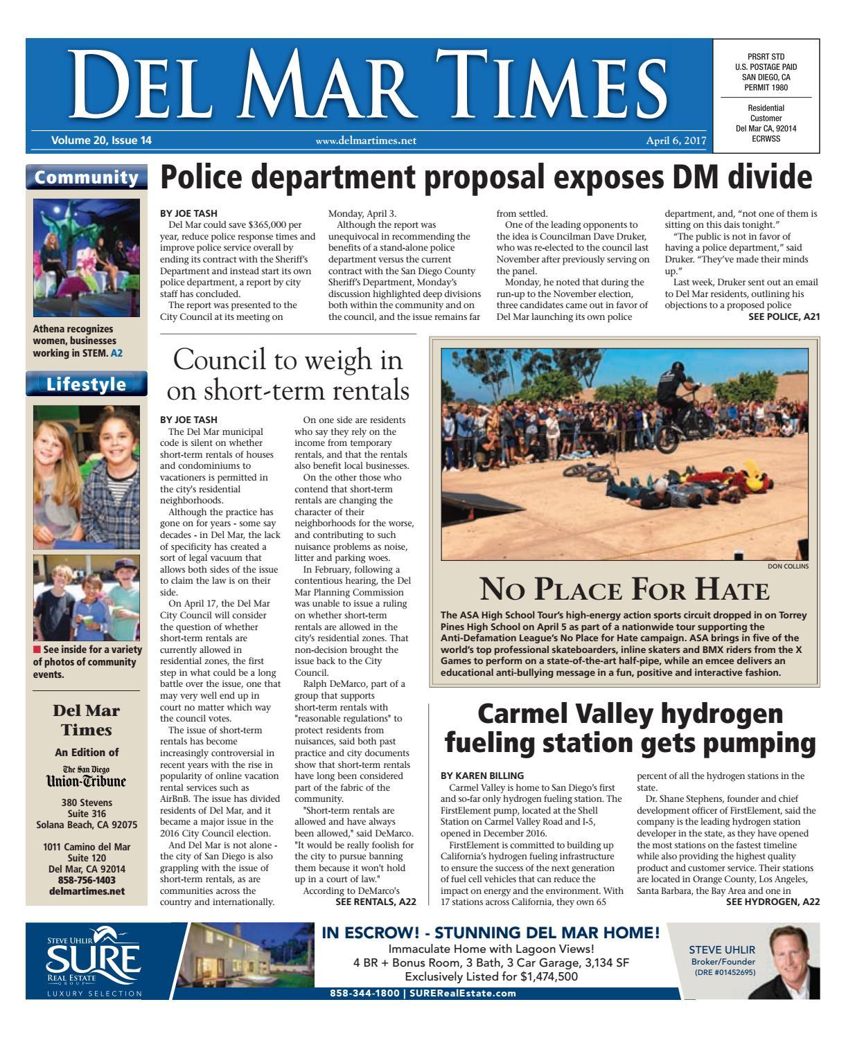 Del mar times 04 06 17 by MainStreet Media - issuu