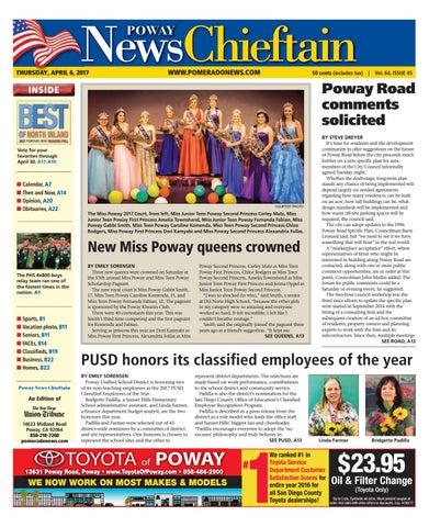 Poway news chieftain 04 06 17 by mainstreet media issuu page 1 solutioingenieria Choice Image