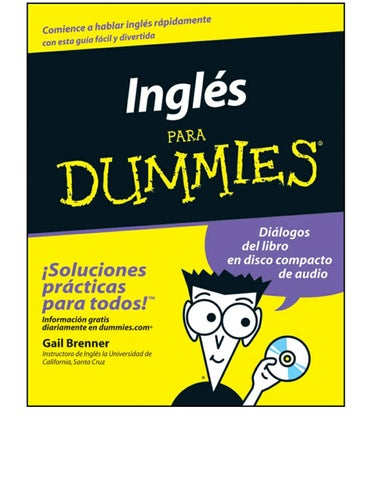 Ingles Para Dummies By Laura Perales Teran Issuu