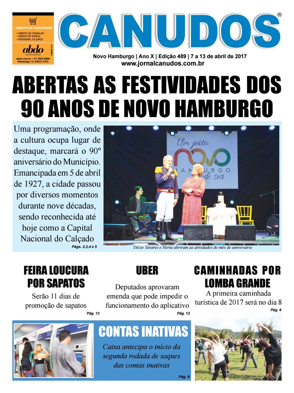 1990f6ba8 Jornal Canudos - Edição 489 by Jornal Canudos - Comercial - issuu
