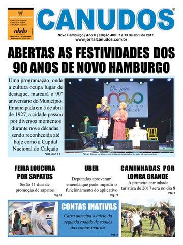 4cd6e7a18da Jornal Canudos - Edição 489 by Jornal Canudos - Comercial - issuu