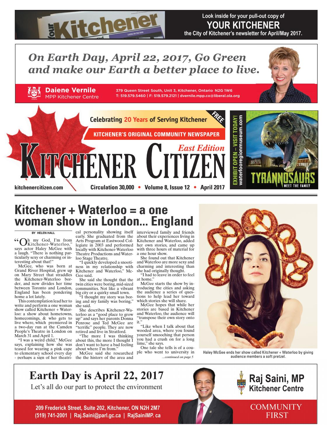 Kitchener Citizen - East Edition - April 2017 by Kitchener Citizen ...