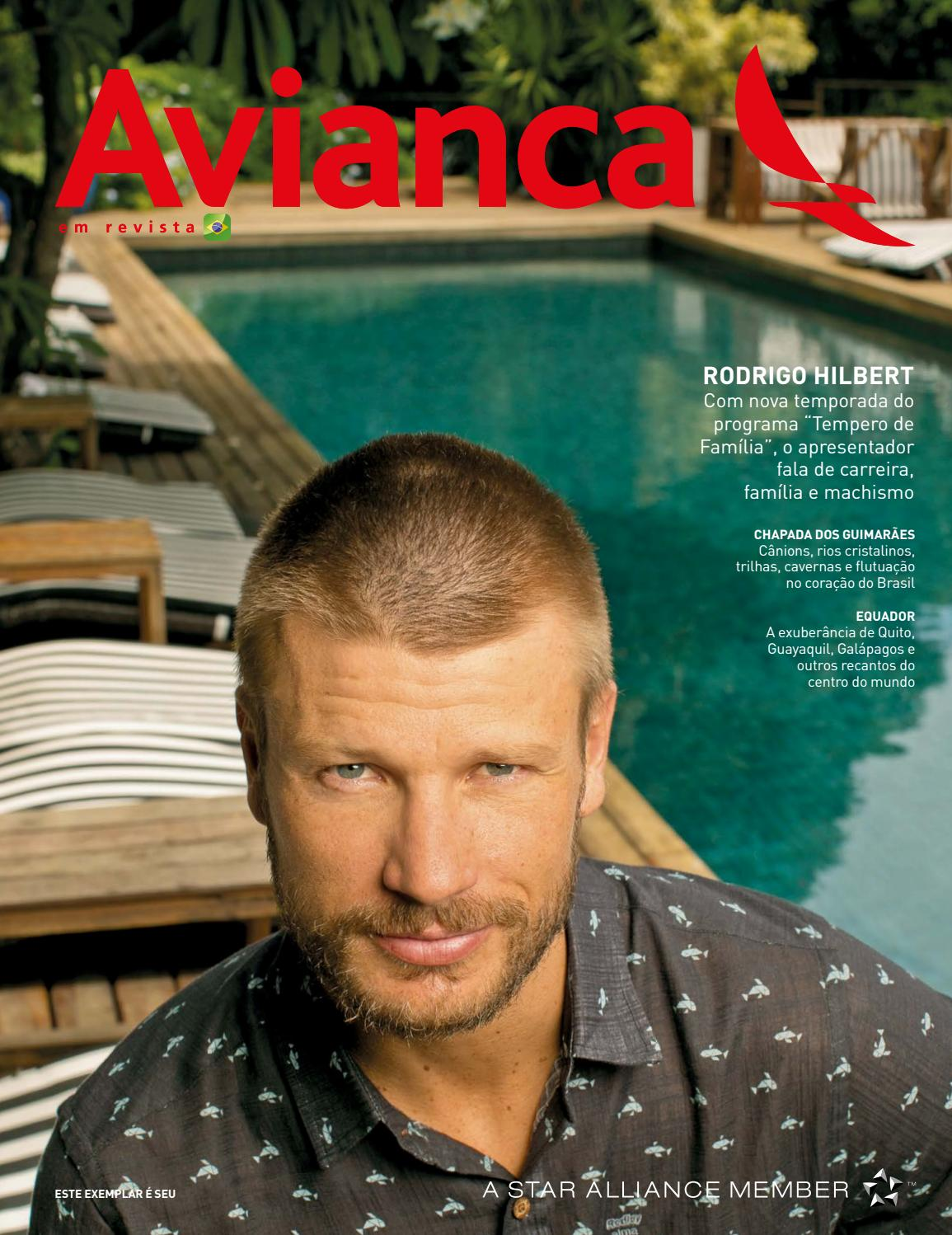 81 - Rodrigo Hilbert by Avianca em Revista - issuu 84a1cf85e9