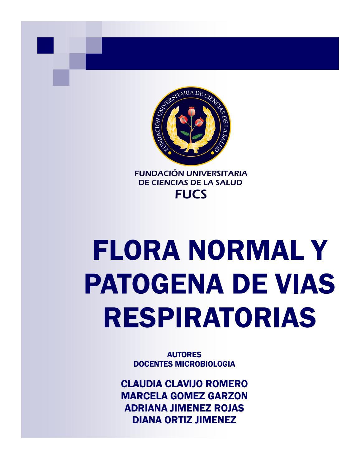 Flora normal y patogena vias respiratorias by marcela gomez - issuu