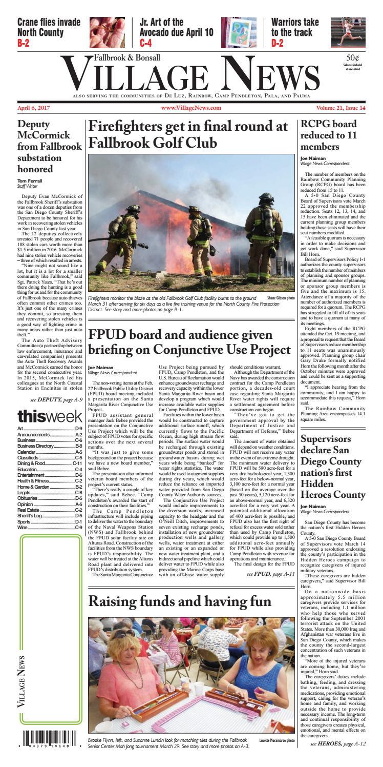Fallbrook Village News By Inc Issuu Aktivator Untuk Water Transfer Printing Hydrographic Wtp 1lt