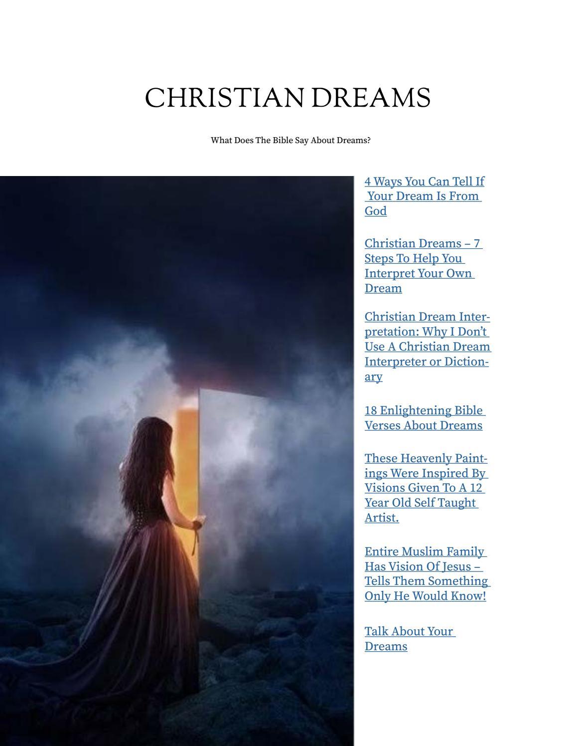 Christian dreams by duke taber issuu biocorpaavc Gallery