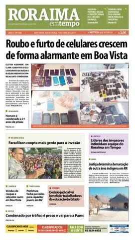d14e1a575 Jornal roraima em tempo – edição 600 by RoraimaEmTempo - issuu