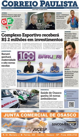 jornal Correio Paulista 1273 by Jornal Correio Paulista - issuu 5f00272daa190