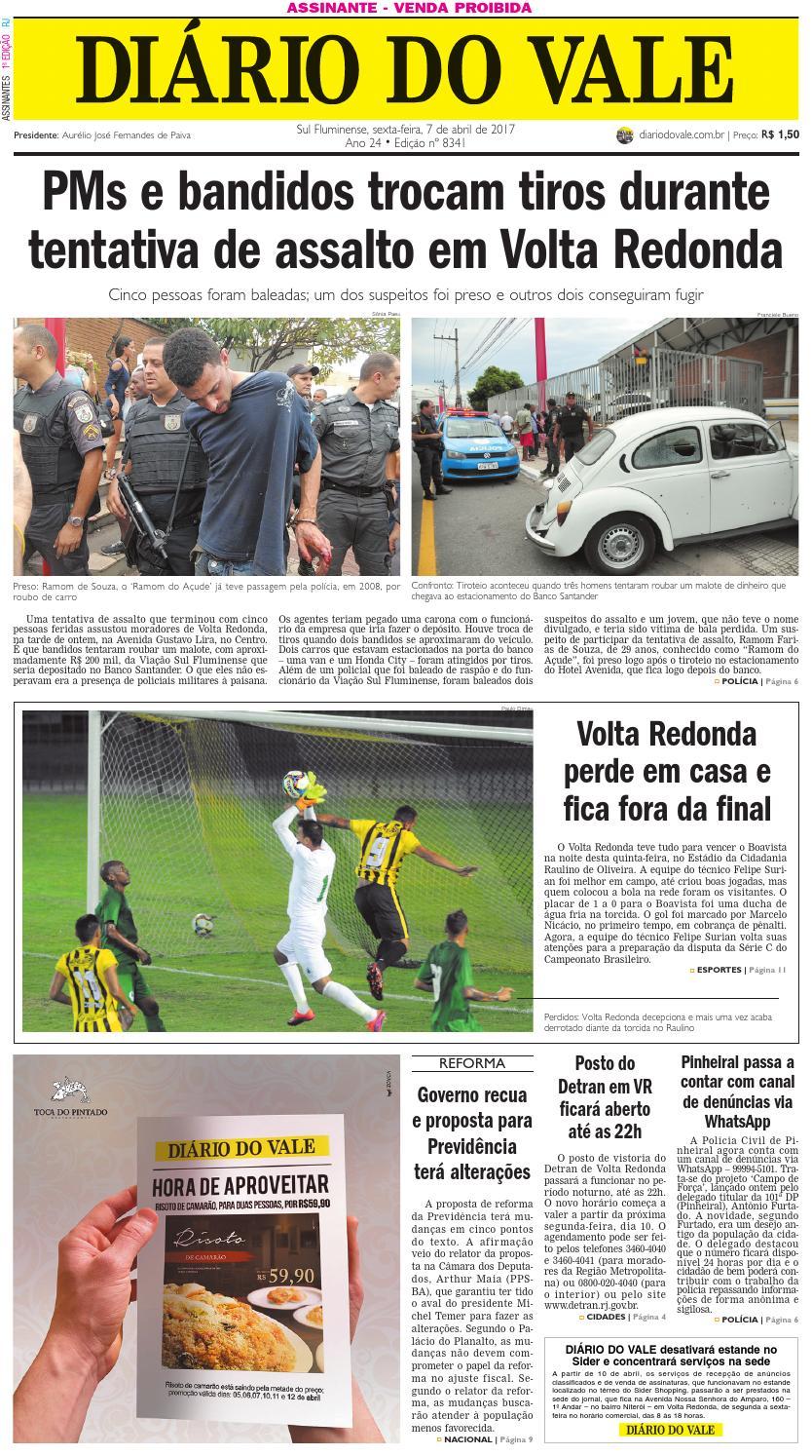 b0547b5ef484c 8341 Diario do Vale sexta feira 07 04 2017 by Diário do Vale - issuu