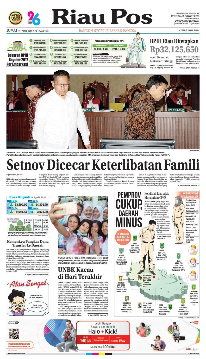 2017 04 07 By Riau Pos Issuu