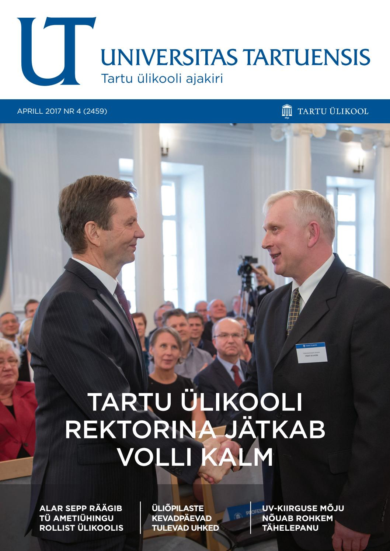 547f4843b1f UT aprill 2017, nr 4 by Universitas Tartuensis - issuu