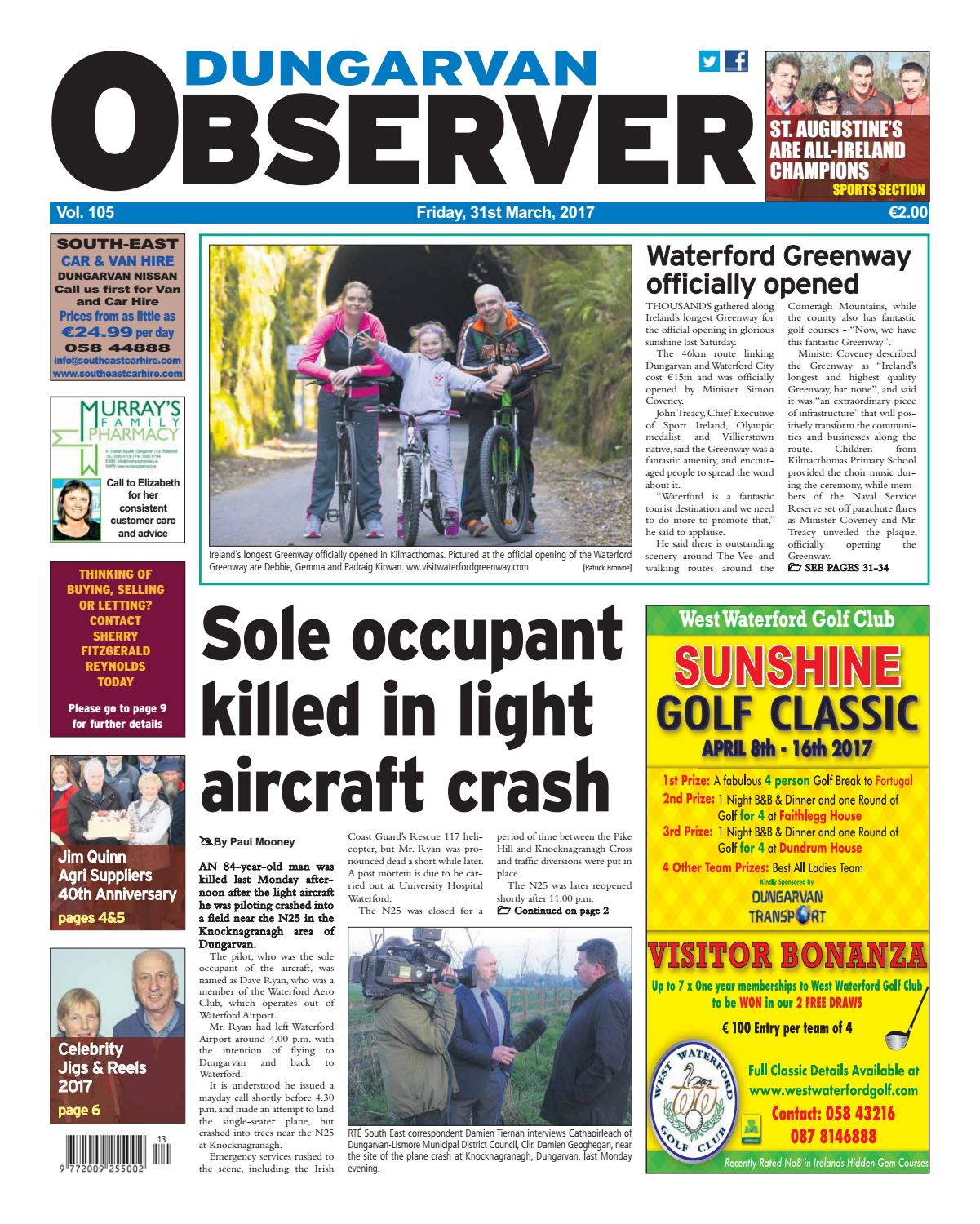 0d4bb17858d Dungarvan observer 31 3 2017 edition by Dungarvan Observer - issuu