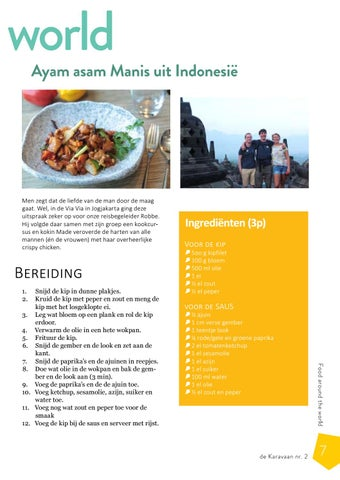 Page 7 of Ayam asam Manis uit Indonesië