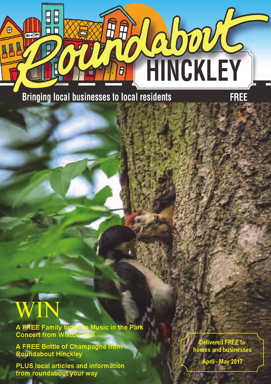 Roundabout Hinckley April May 2017 Issue By Debbie Heron