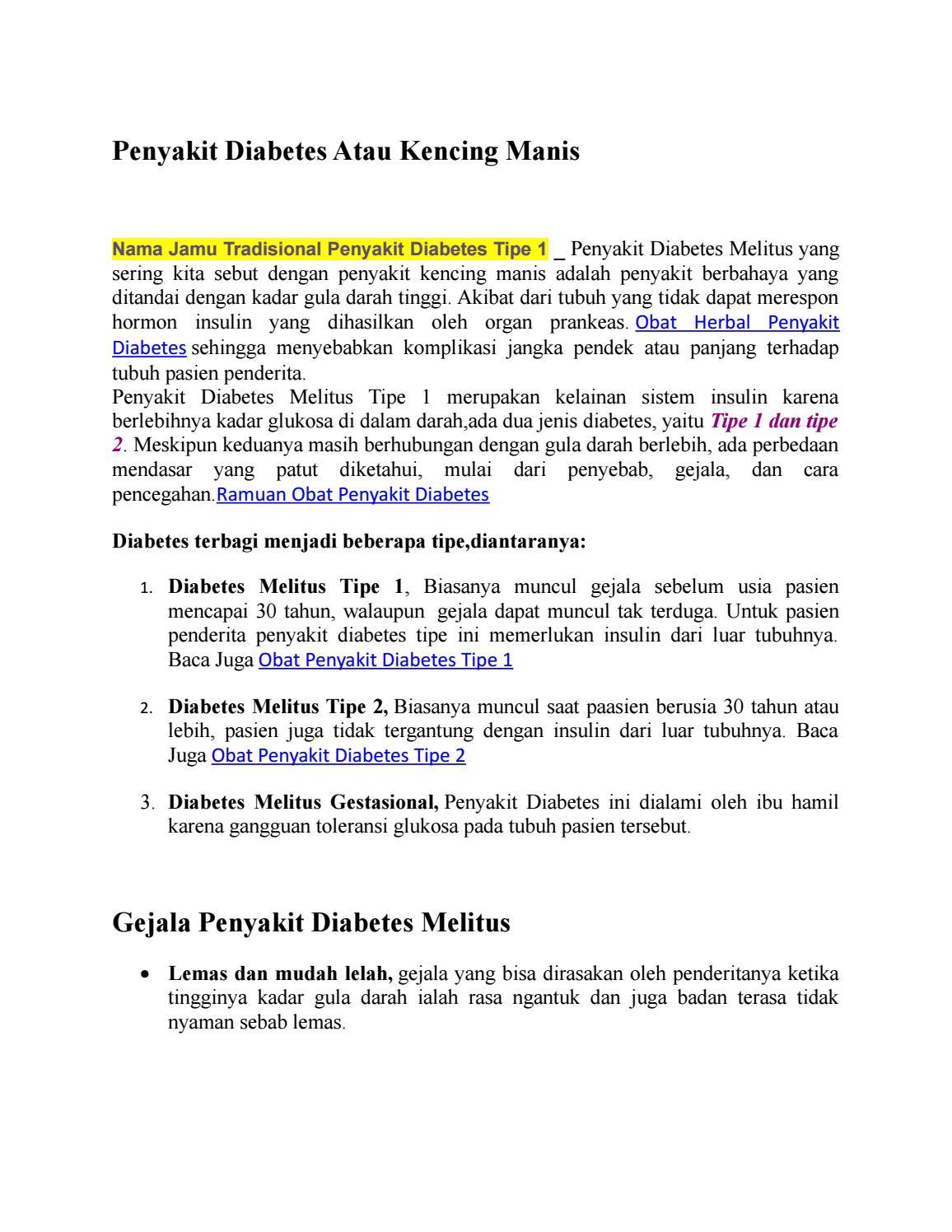 penyebab penyakit diabetes pada ibu hamil