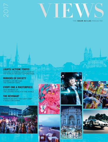 Wunderbar Views The Baur Au Lac Magazine 2017 By Cinnamon Circle   Issuu