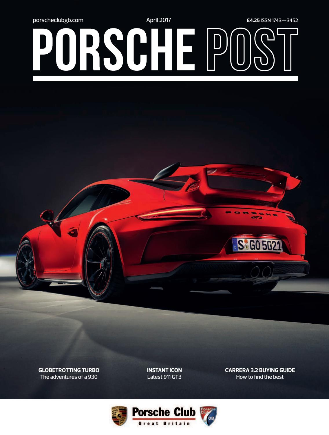 Porsche Post April 2017 By Club Great Britain Issuu 997 Pse Wiring