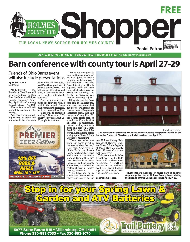 Holmes County Hub Shopper April 8 2017 By GateHouse Media NEO