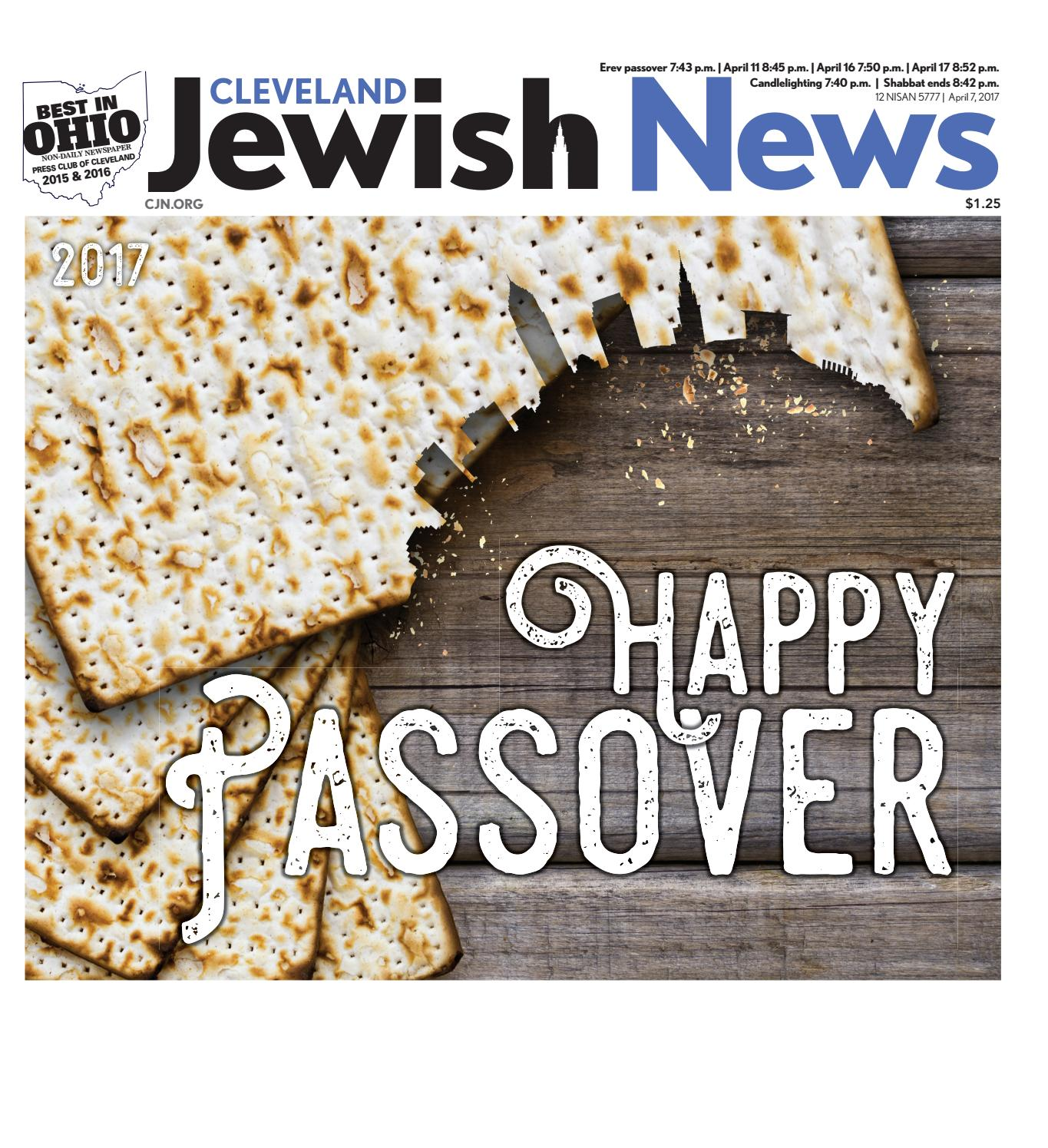 Passover Section 2017 By Cleveland Jewish Publication Company Issuu