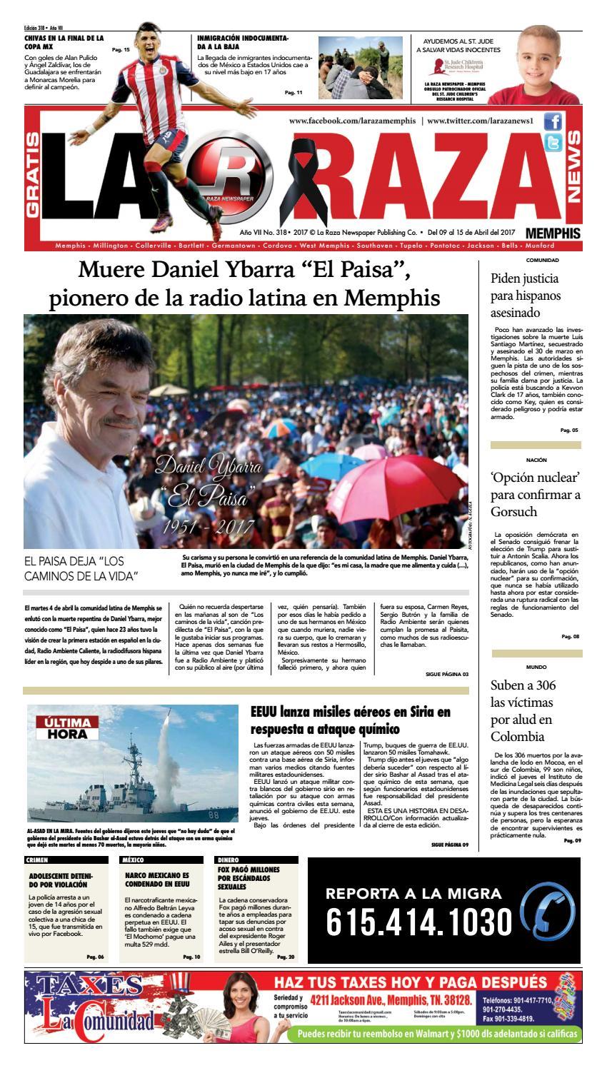 La Raza Newspaper Memphis Tn By Nancy Aguila Issuu