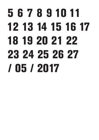 Kunstenfestivaldesarts 2017 Programme By Kunstenfestivaldesarts