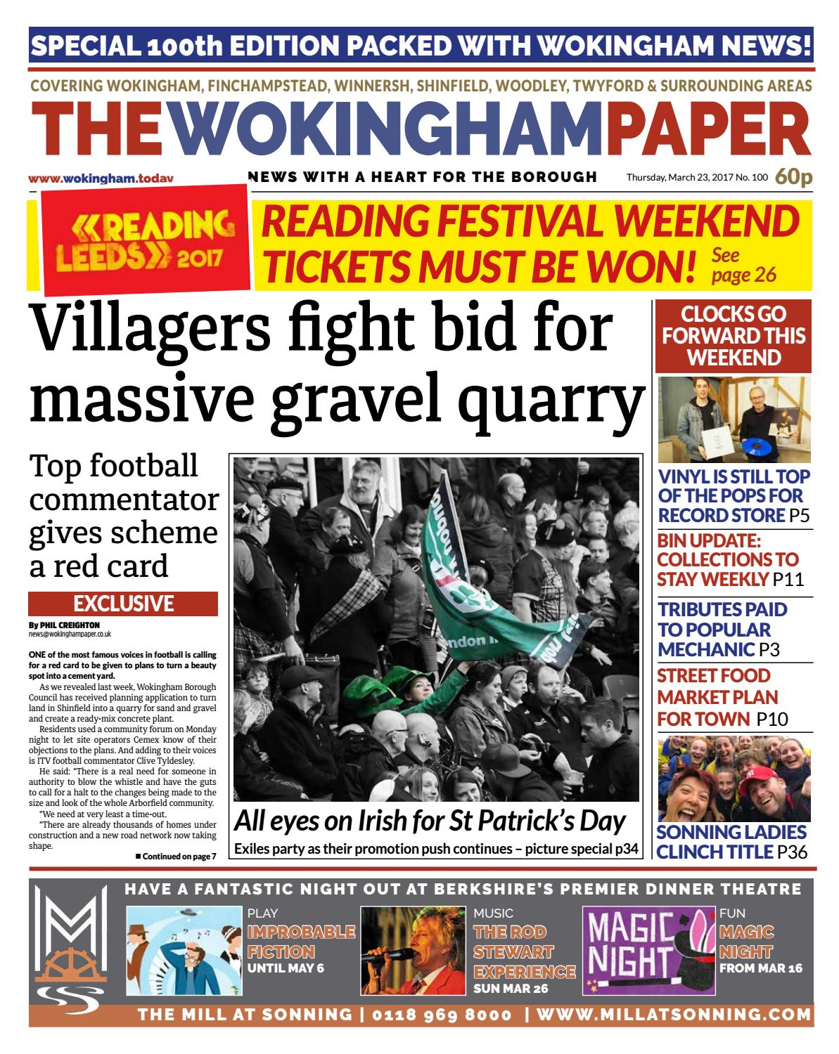 The Wokingham Paper March 23, 2017 by The Wokingham Paper - issuu