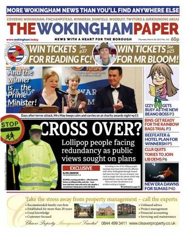 The Wokingham Paper March 30, 2017 by The Wokingham Paper - issuu